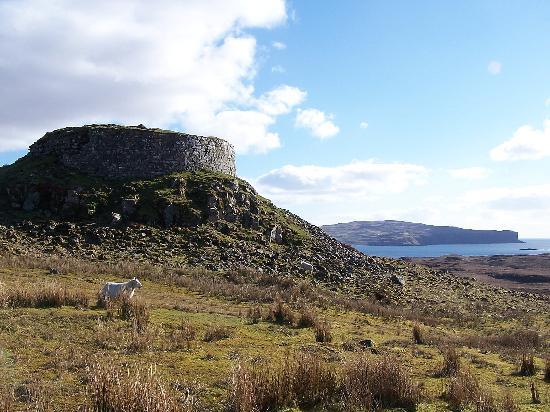 Isla de Skye, UK: Dun Beag broch - Struan
