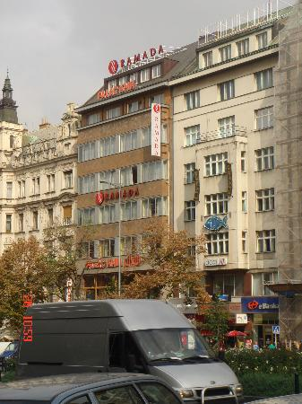 Wenceslas square picture of ramada prague city centre for Hotels in prague city centre