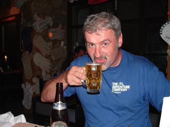Rum Doodle: Mmmm. Everest Beer!