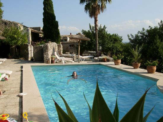 Finca Es Castell : The pool