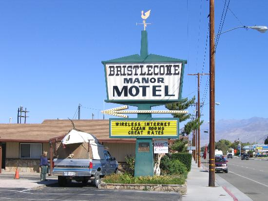 Bristlecone Manor Motel Big Pine Ca
