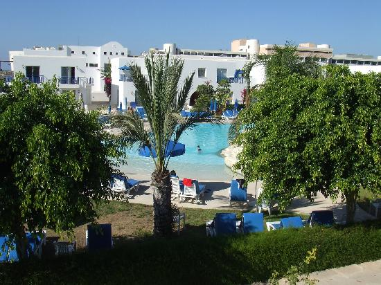 Aliathon Holiday Village: view from our aprtment