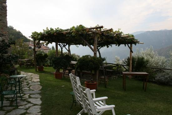 Casa Cambi : The lovely outdoor seating area