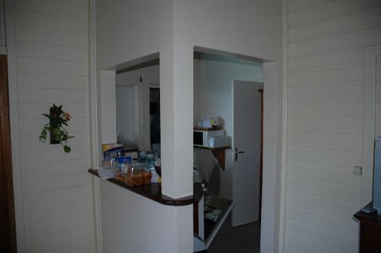 Residence Pointe Batterie: kitchen
