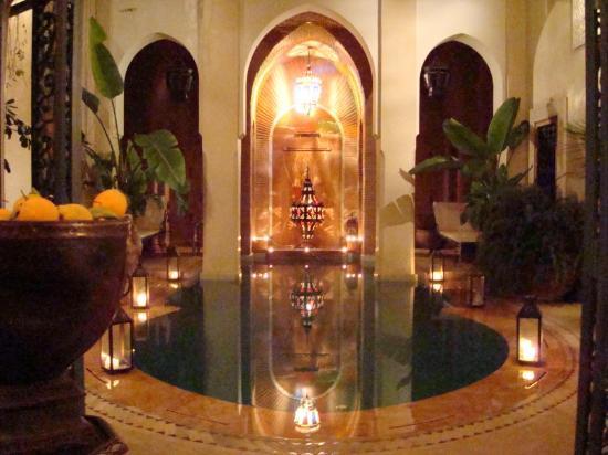 Riad Monika: la piscine