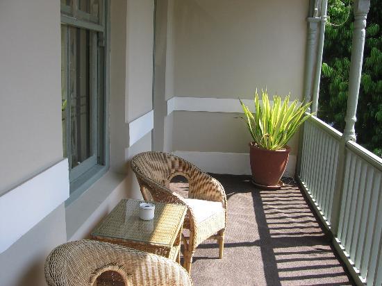 An African Villa: Cape Town - Balcony