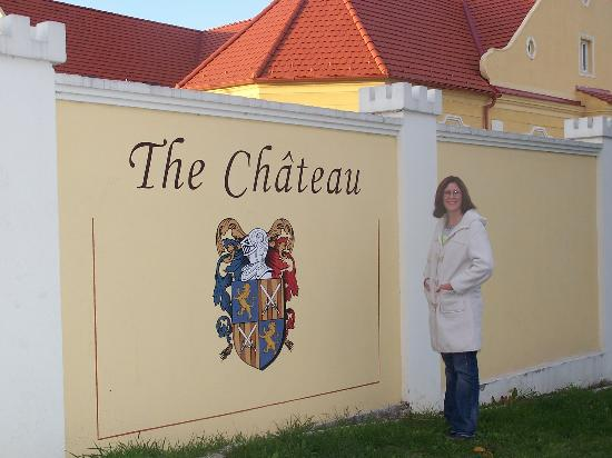Just arrived outside The Chateau!