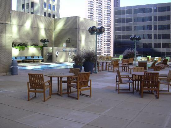 pool area picture of the westin denver downtown denver. Black Bedroom Furniture Sets. Home Design Ideas