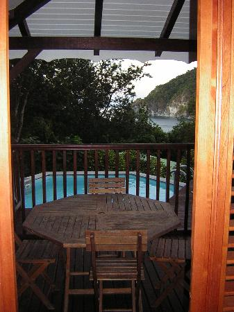 Residence Pointe Batterie: vue du bungalow