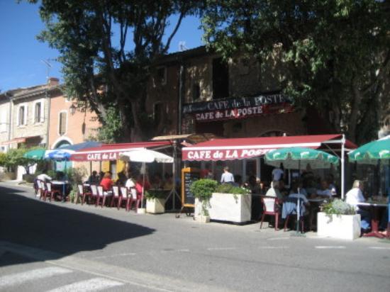 Les Restanques : Cafe de la Poste