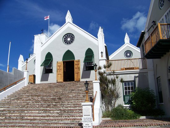 Bermuda: St Peter's Church  - the oldest Anglican church in the western hemisphere, located in St. George