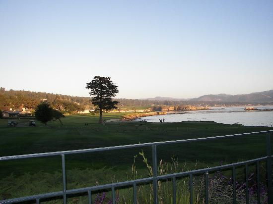 The Lodge at Pebble Beach: view from room