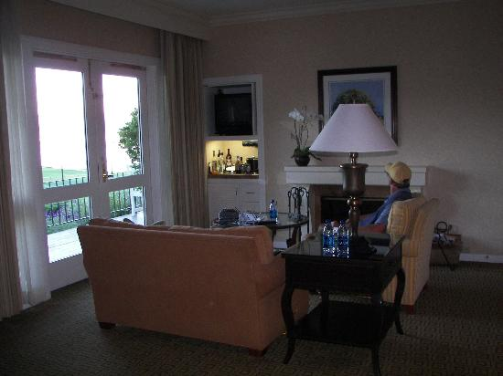 The Lodge at Pebble Beach: inside room
