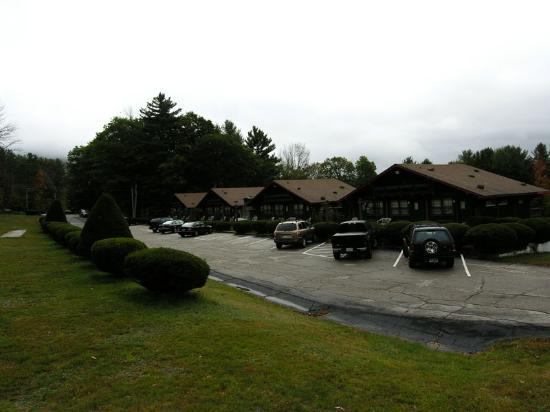 Swiss Chalets Village Inn : Picture of the cabins property