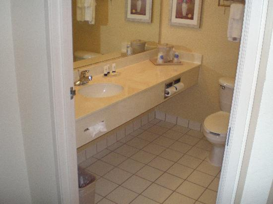 Fairfield Inn Deptford: bathroom