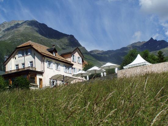 Hotel Meisser as seen from below
