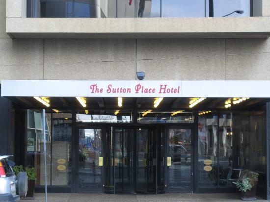 Sutton Place Hotel Edmonton Parking