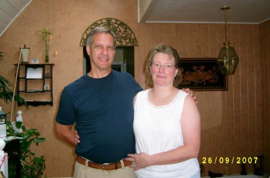 Hoppy's Bed & Breakfast : Mark & Mary 25 years
