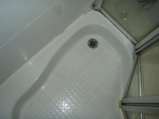 Fairways Lodge & Leisure Club: never cleaned shower tray