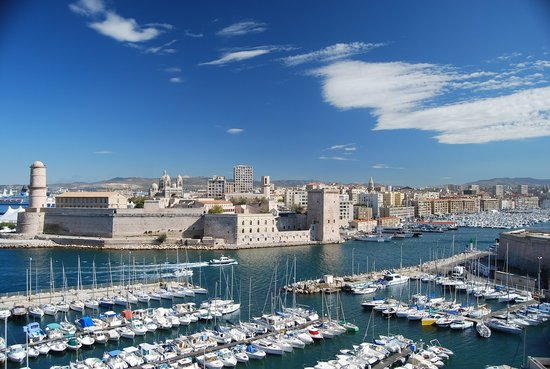 Sofitel Marseille Vieux-Port: The view from the room