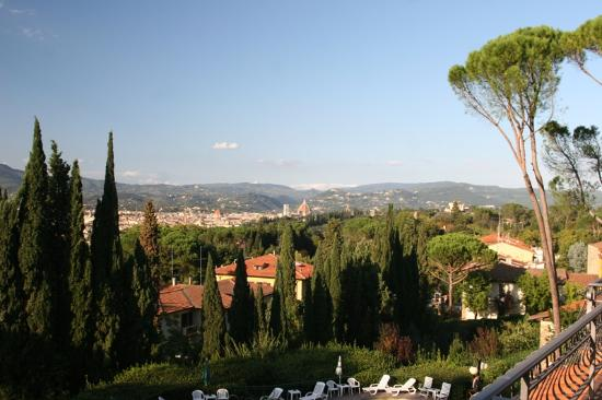 Villa Belvedere - Florence : View of Florence from our room