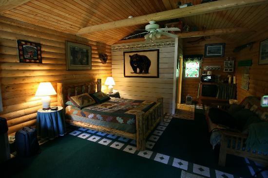 Allens Alaska Adventures: Habitación vista 1