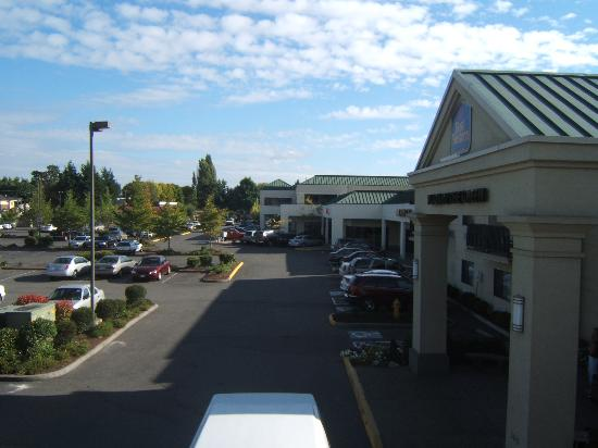 Kent, WA: View from room