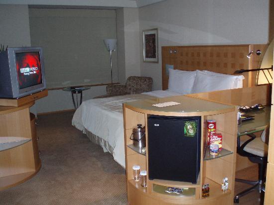 Hilton Sao Paulo Morumbi : Inside view of Room at Hilton Sao Paulo