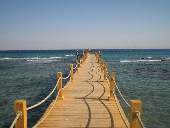 Taba, Egitto: pier