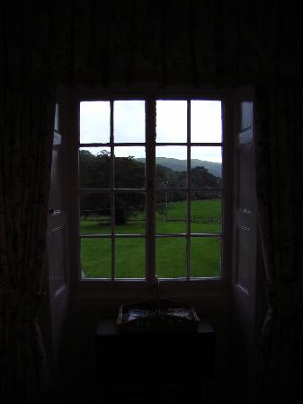 Peniarth Uchaf: Bedroom With lovely views