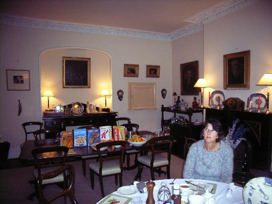 Peniarth Uchaf: Dining & Breakast Room