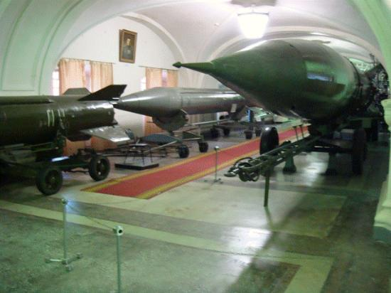 Military Historical Artillery Museum: Ballistic missile, anyone?