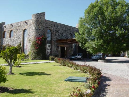 Contepec, México: Outside view of Hacienda