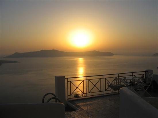Villa Renos: Unforgettable sunset view