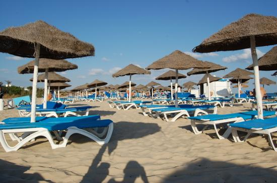 Hammamet Resort: beach