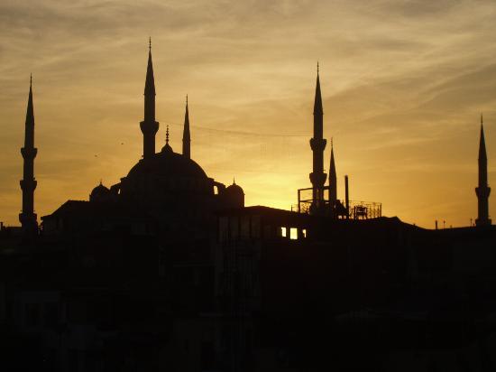Gul Sultan Hotel: Vistas desde la terraza
