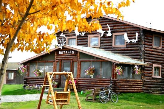 Bettles Lodge: Fall time