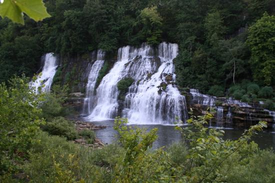 Rock Island, TN: A magnificient set of falls