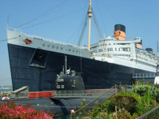 Aussenansicht Queen Mary 1 Bild Von The Queen Mary Long Beach