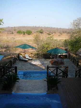 Crocodile Kruger Safari Lodge: View from the Lodge Veranda