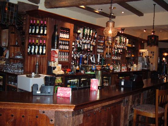 Premier Inn Blackpool East (M55, Jct4) Hotel: the bar of outside inn (attached to hotel)