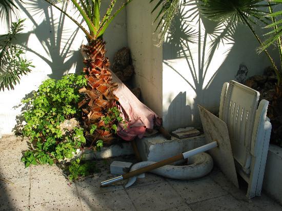 MedPlaya Hotel Villasol : toujours la terrasse