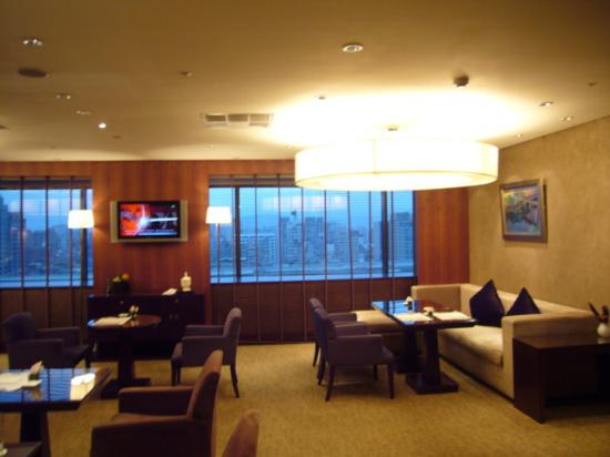 Sheraton Grande Taipei Hotel: Executive Club Lounge