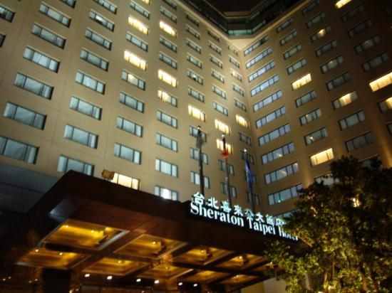 Sheraton Grande Taipei Hotel : The Sheraton Taipei at Night