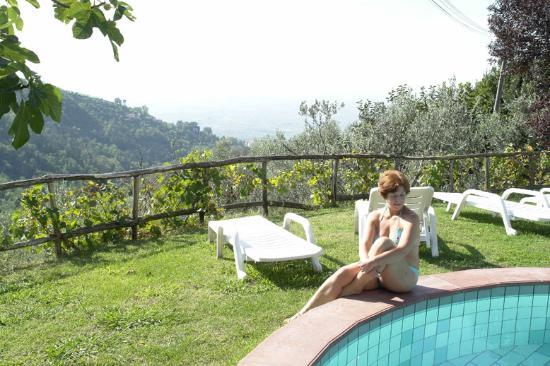 La Baghera: The pool