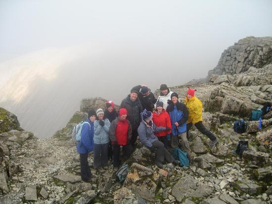 Ben Nevis: Top o' The Ben, well worth the 4 hour trek on a fine day