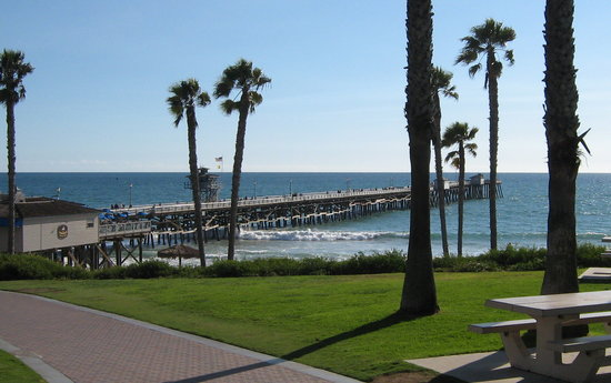 San Clemente, Californien: The Pier