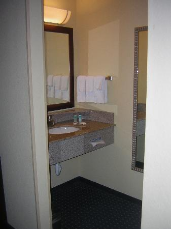 SpringHill Suites St. Petersburg Clearwater: bathroom sink area