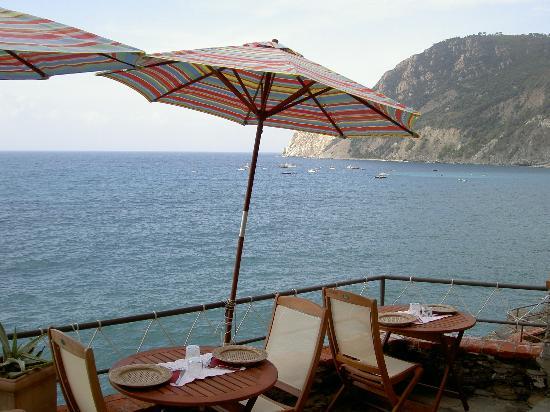 Hotel Villa Steno: Cafe on the cliff