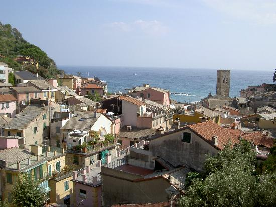 Hotel Villa Steno: View from our balcony
